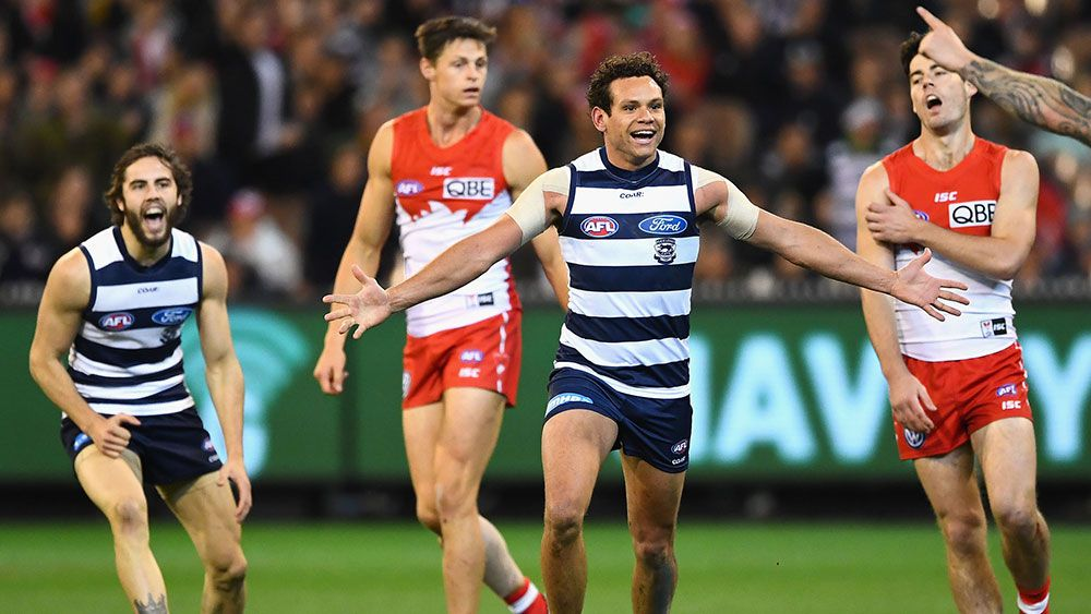 Cats' big win over Swans, into AFL prelim
