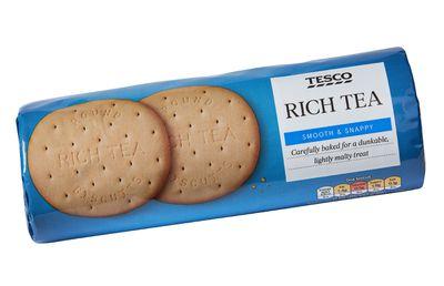 Tesco Rich Tea Biscuits 300g ($2.50)