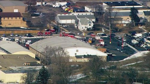 A gunman opened fire at an industrial park in Illinois.