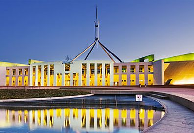 Parliament House, Canberra (Getty)