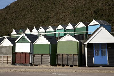 Durley Chine beach in Bournemouth, Dorset