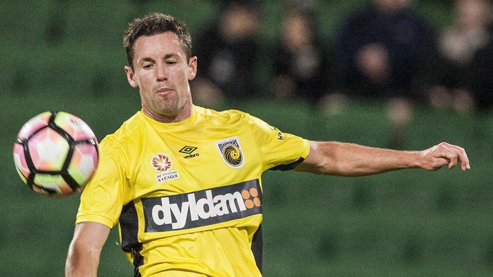 Blake Powell and the Mariners came back from three goals down. (AAP)