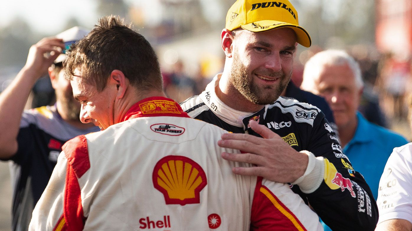 McLaughlin and Van Gisbergen in happier times