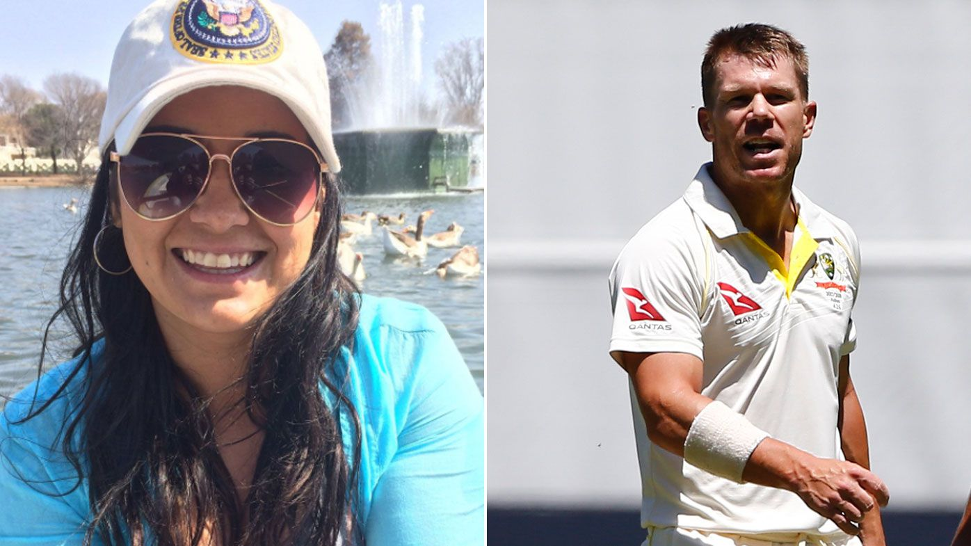 Sister of Quinton de Kock calls out David Warner on Twitter