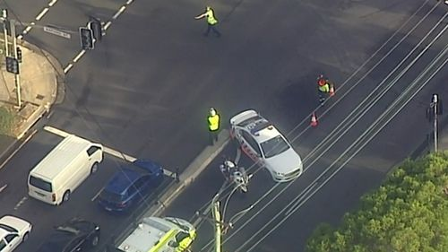 Two southbound lanes of Woodville road were closed while police conducted their investigation.