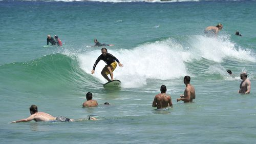 Adelaide Heatwave Beach
