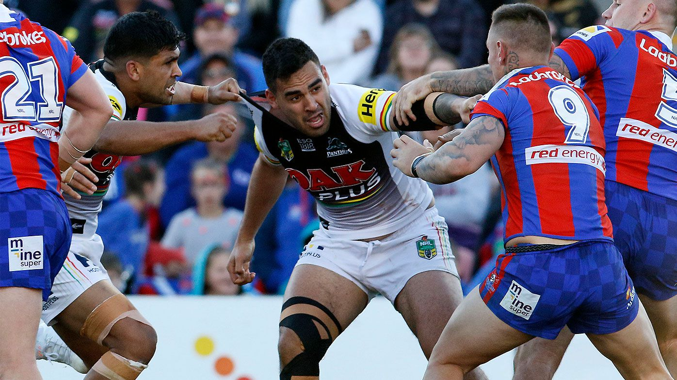 Peter Sterling questions Penrith Panthers' mental state after ugly brawl in Newcastle loss