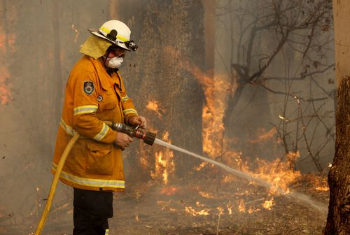 Several other people have been charged for fire-related offences during the ban.