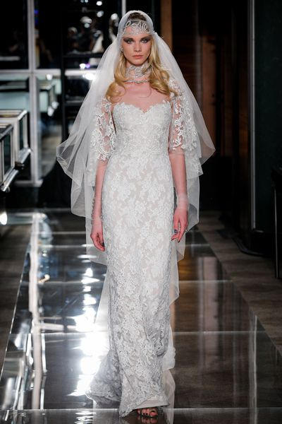 Reem Acra at Tiffany & Co. in New York