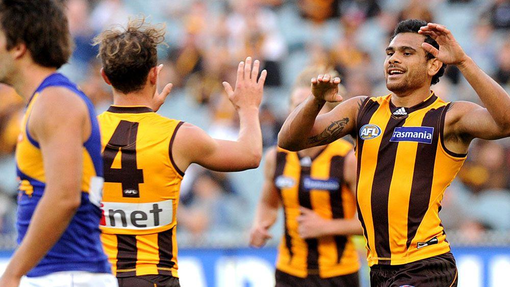 Gibson shines in Hawks' AFL win