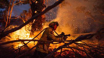 Battling the blaze