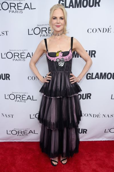 Nicole Kidman in Christian Dior at the Glamour Women of the Year Awards, November 13.
