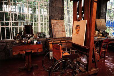 <strong>Frida Kahlo:&nbsp;La Casa Azul, Coyoachan, Mexico</strong>