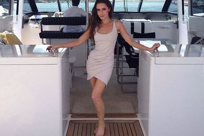 "@taliafowler1: ""Aye aye Captain #Sydney #boatlife."""