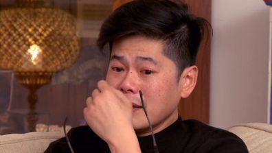 Gogglebox Australia, Tim Lai, crying