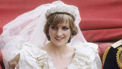 Diana's wedding tiara in public for the first time since her death