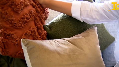 Kmart are releasing a range of new textured cushions which will retail for just $8 each.