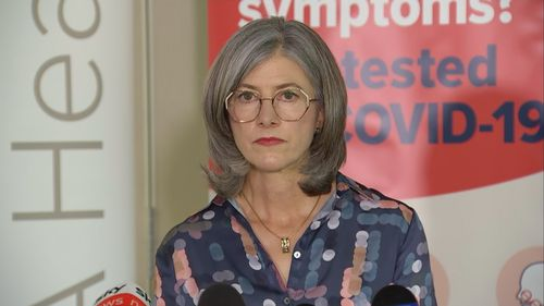 SA Health Minister Professor Nicola Spurrier said three new local cases were recorded in the state.
