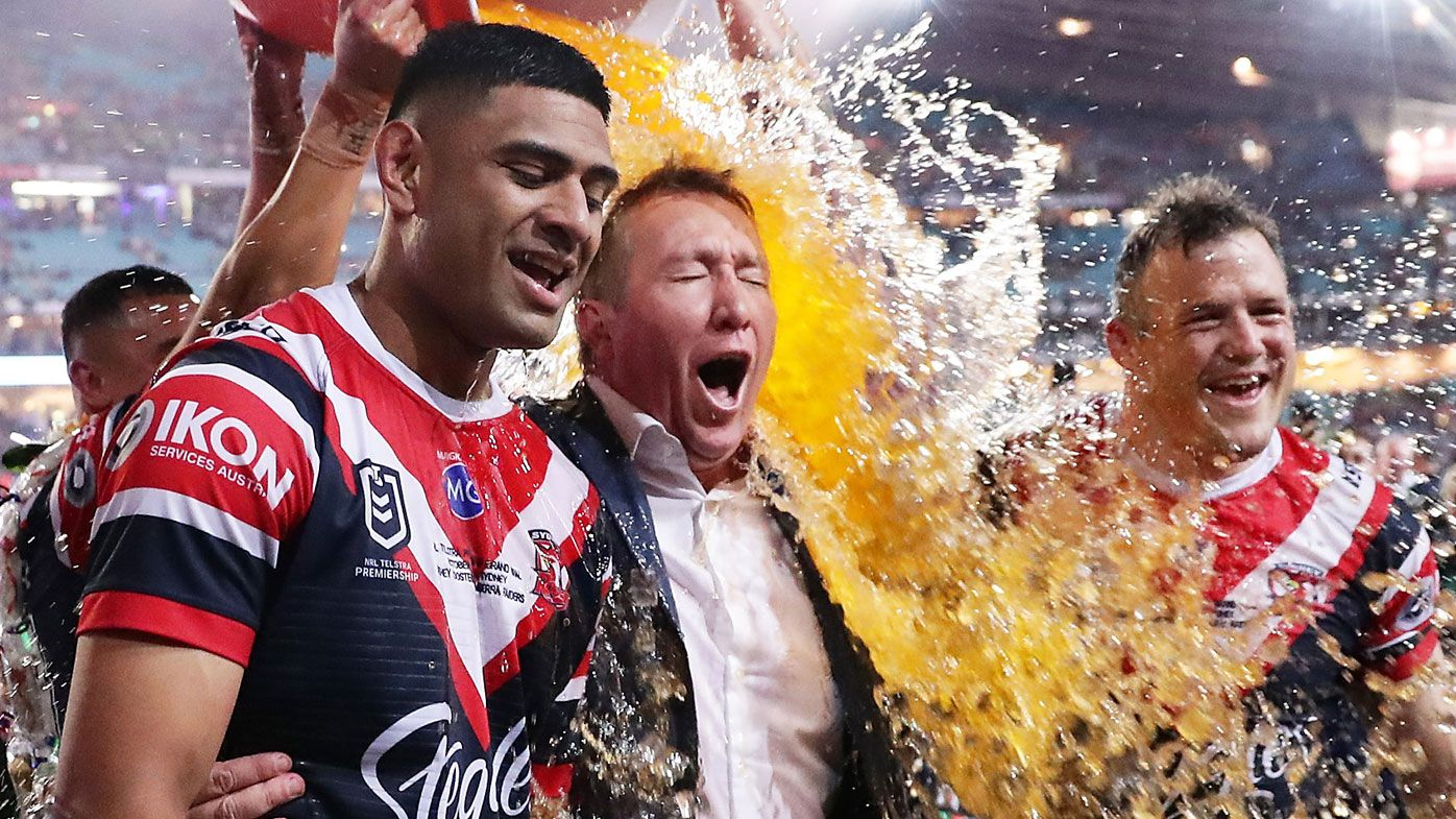 Sydney Roosters coach Trent Robinson backs top-eight finals in shortened season