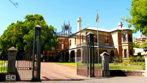 St Mark's College in Adelaide is the scene of sexually-charged, degrading rituals, a former student has said.