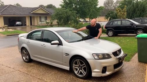 In Wagga Wagga, one resident Tom Burge used the welcome shower to wash his car - something he's been unable to do due to tight water restrictions.