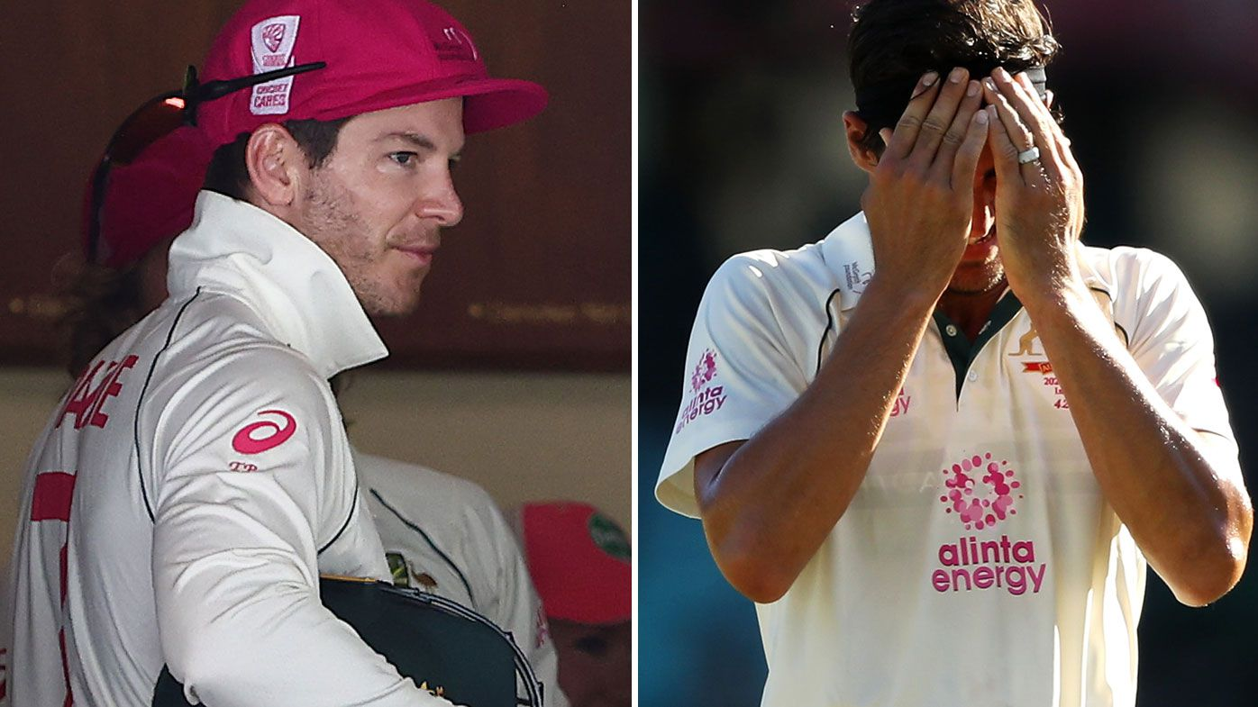 Tim Paine wears blame for Mitchell Starc's poor showing at the SCG
