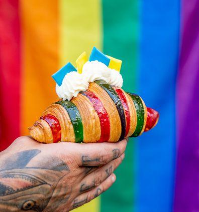 Golden Gaytime croissant