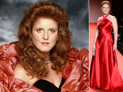 Sarah Ferguson's style evolution