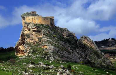 Castello di Mussomeli, Sicily.