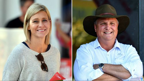 Labor's Susan Lamb is going head-to-head with the LNP's Trevor Ruthenberg. (AAP)