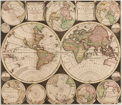 Carel Allard map, 1696