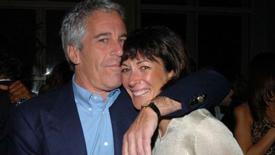 Jeffrey Epstein and Ghislaine Maxwell in 2005.