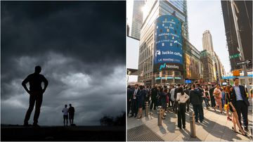 More than nine million New Yorkers will brace for severe weather with a tornado warning issued for the busy city.