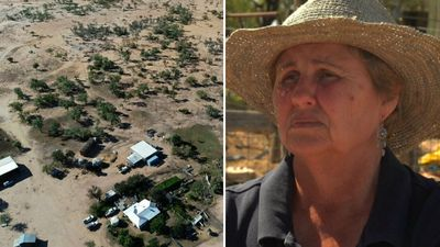 Drought-hit farmer 'shocked' by banker's comment