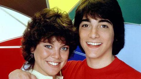 Erin Moran, Scott Baio on Happy Days.