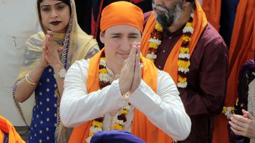 Mr Trudeau's 2018 Indian trip was plagued by scandals and gaffes.