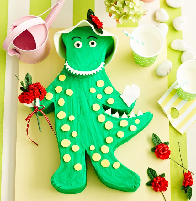 Dorothy the Dinosaur cake recipe - 9kitchen