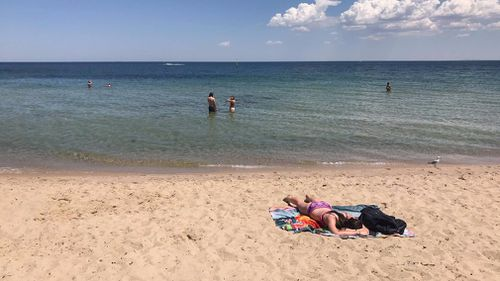 The mercury in Melbourne is set to reach 34 degrees. (Sean Davidson)