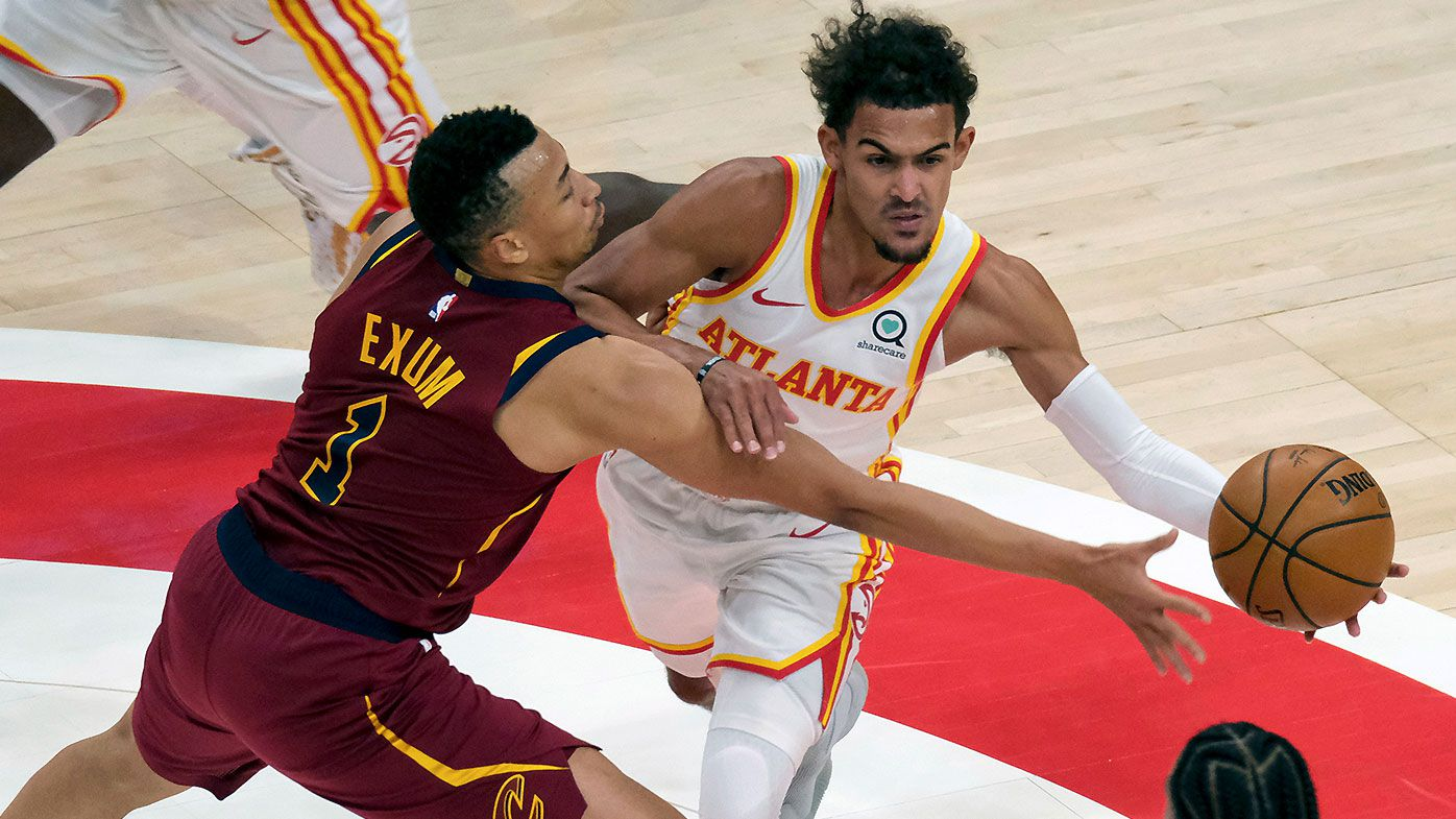 Dante Exum praised for locking up NBA's hottest guard Trae Young as Cavs shock Hawks