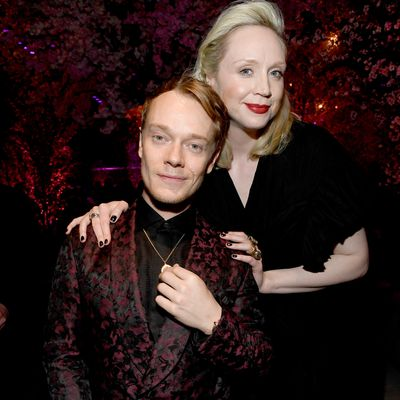 Alfie Allen and Gwendoline Christie
