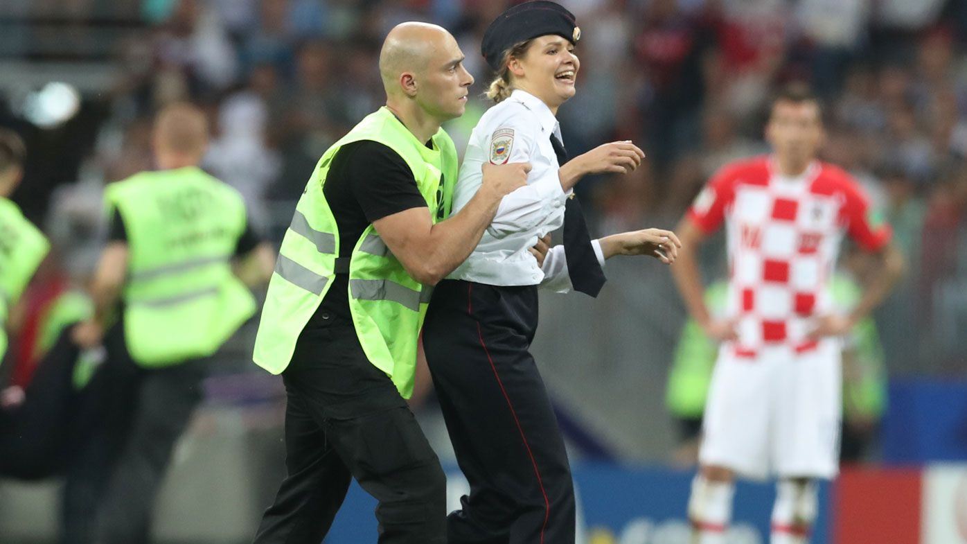 Pussy Riot upstages Putin with World Cup protest
