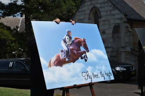 Olivia was a talented rider and the second to die in a fall at the racetrack at Gundi, in the NSW Hunter Region just seven weeks after Caitlyn Fisher.