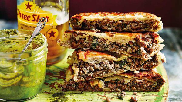 Anjum Anand's Mumbai roadside hot lamb sandwich_thumb