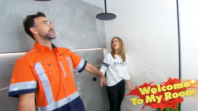 El'ise and Matt show off bathroom feature that's 'never been done in Australia'