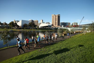<strong>Adelaide - River Torrens run (13.6km)</strong>