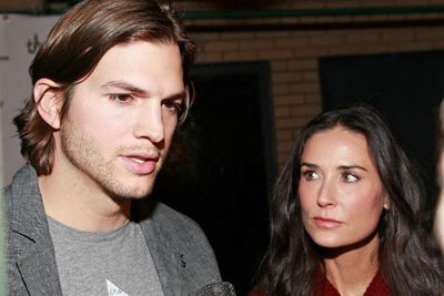 They were one of Hollywood's golden couples until Ashton Kutcher got busted fooling around in a hot tub with a 22-year-old model. Demi Moore took her time deciding whether or not to give him another chance, eventually filing for divorce more than a month after learning about his infidelity.