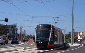 Light rail opens from CBD to Kingsford