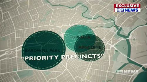 "After public pressure, the plan was reversed, however nearby suburbs have been labelled as ""priority precincts"" for possible future development. Picture: 9NEWS."