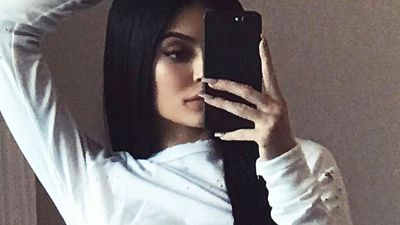 Kylie Jenner accused of Photoshopping underwear selfie
