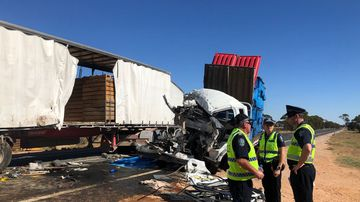 Man dead after colliding with broken-down truck at Wigley Flat